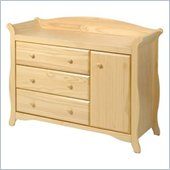 Stork Craft Aspen Combo Dresser in Natural