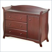 Stork Craft Aspen Combo Dresser in Cherry
