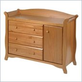 Stork Craft Aspen Combo Dresser in Oak