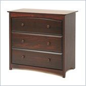 Stork Craft Beatrice 3 Drawer Chest in Cherry Finish