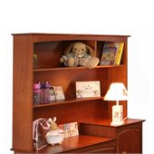 Stork Craft Beatrice Combo Hutch in Cognac Brown