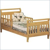 Stork Craft Soom Soom Sleigh Toddler Bed in Natural