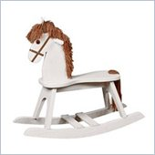 Stork Craft PlayTyme Child's Rocking Horse in White
