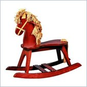 Stork Craft PlayTyme Child's Rocking Horse in Cherry