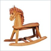 Stork Craft PlayTyme Child's Rocking Horse in Oak