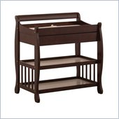 Stork Craft Tuscany Baby Changer with Drawer in Cherry
