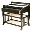 ADD TO YOUR SET: Stork Craft Tuscany Baby Changer with Drawer in Black