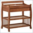 ADD TO YOUR SET: Stork Craft Tuscany Baby Changer with Drawer in Cognac