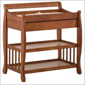 Stork Craft Tuscany Baby Changer with Drawer in Cognac