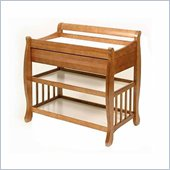 Stork Craft Tuscany Baby Changer with Drawer in Oak