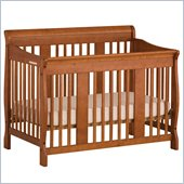 Stork Craft Tuscany 4-in-1 Stages Baby Crib in Oak