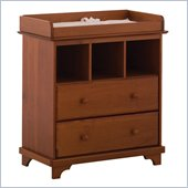  Lily 2 Drawer Baby Changing Table in Cognac