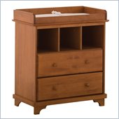 Lily 2 Drawer Baby Changing Table in Oak