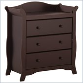 Stork Craft Aspen 3 Drawer Chest in Espresso