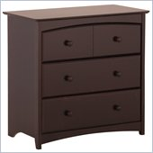Stork Craft Beatrice 3 Drawer Chest in Espresso