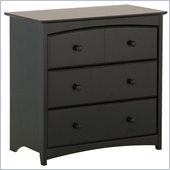 Stork Craft Beatrice 3 Drawer Chest in Black