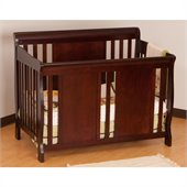 Stork Craft Verona Fixed Side 4-in-1 Convertible Crib in Cherry