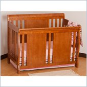 Stork Craft Verona Fixed Side 4-in-1 Convertible Crib in Oak