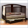 ADD TO YOUR SET: Stork Craft Hollie 4-in-1 Fixed Side Convertible Crib in Espresso