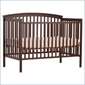 Stork Craft Bradford 4-in-1 Fixed Side Convertible Crib in Cherry
