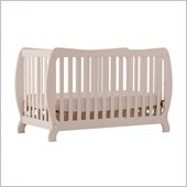Stork Craft Monza II 2-in 1 Fixed Side Convertible Crib in White