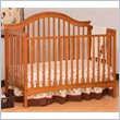 ADD TO YOUR SET: Stork Craft Ravena 2-in 1 Fixed Side Convertible Crib in Oak