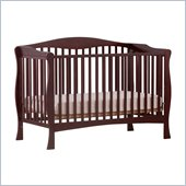 Stork Craft Savona Fixed Side Convertible Crib in Cherry