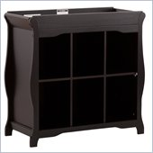 Stork Craft Aspen 6 Cube Organizer/Change Table in Black