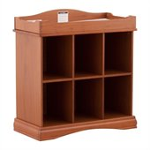 Stork Craft Beatrice 6 Cube Organizer/Change Table in Oak