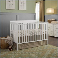 Stork Craft Mission Ridge Convertible Crib in White