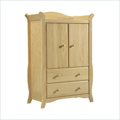 Stork Craft Aspen Armoire in Natural