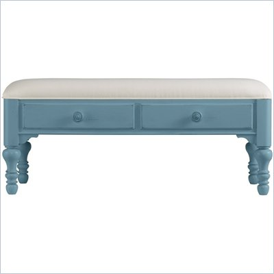 Stanley Furniture Coastal Living Bed End Bench in Wave Finish