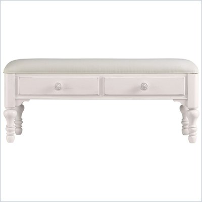 Stanley Furniture Coastal Living Bed End Bench in Twilight Finish