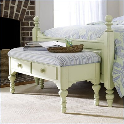 Stanley Furniture Coastal Living Cloud Fabric End Bench
