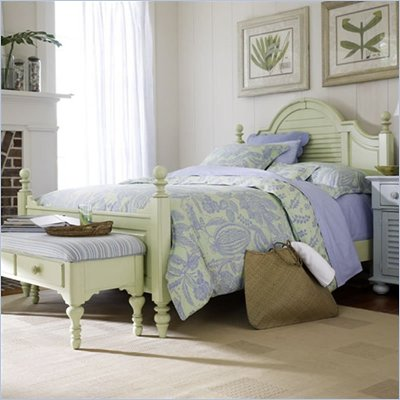 Stanley Furniture Coastal Living Summerhouse Low Post Wood Panel Bed 3 Piece Bedroom Set