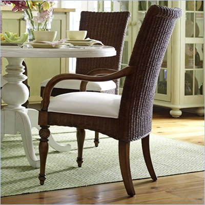 Stanley Coastal Living Woven Fabric Arm Chair