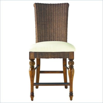Stanley Coastal Living Woven Counter Stool in Boardwalk Finish