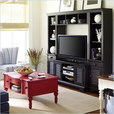 Stanley Coastal Living 2 Shelf Wood Right Bookcase