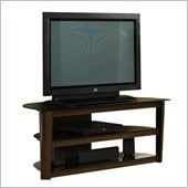 Studio RTA Entertainment Credenza in Black/Dark Cinnabar