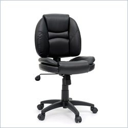 Studio RTA DuraPlush Task Office Chair in Black