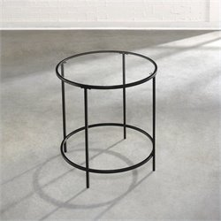 Studio RTA Soft Modern Side Table in Black