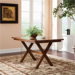 Studio RTA Carson Forge Dinette Dining Table in Washington Cherry