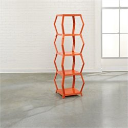 Studio RTA Soft Modern Etagere in Orange Blush