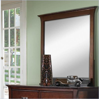 Samuel Lawrence Furniture Bridgeport Merlot Mirror