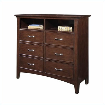 Samuel Lawrence Furniture Bridgeport 6 Drawer Entertainment Console