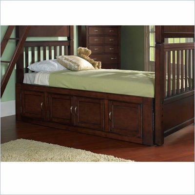 Samuel Lawrence Furniture Bridgeport Merlot Full Under Bed Storage Unit