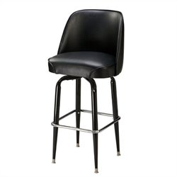 Regal Ribiero 30 High Retro Straight Leg Swivel Bar Stool