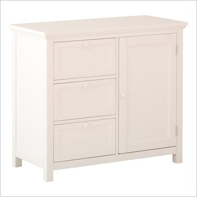 Status Furniture Montrose Baby Nursery Dresser in White