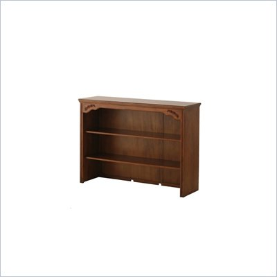 Status Furniture Somerset Baby Nursery Dresser Hutch in Walnut