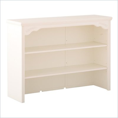 Status Furniture Somerset Baby Nursery Dresser Hutch in Antique White